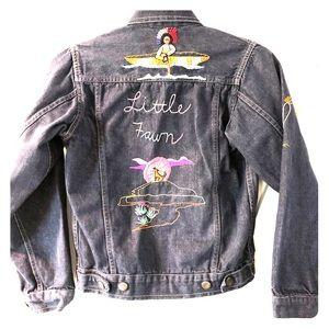 Vintage custom Jean jacket